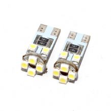 8 LED Side Light Bulbs CANBUS Free 501 T10 W5W White
